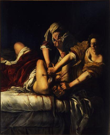 Giuditta e Oloferne_Artemisia